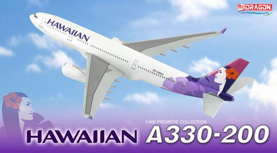 Hawaiian Airlines A330-200 1/400 Diecast Scale Model