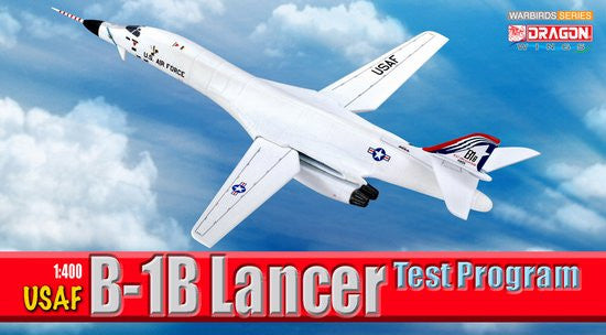 USAF B-1B Lancer Test Program 1/400 Scale Model with Stand