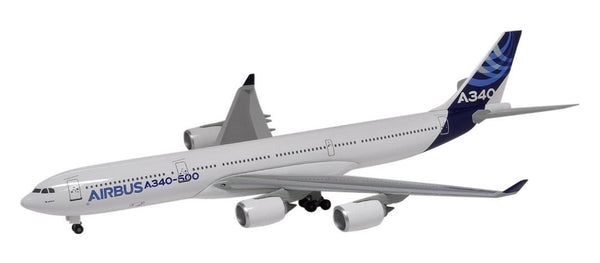 Dragon Airbus Corporate A340-500 1/400 Model w/ Stand & Gears DRW56363