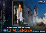 Dragon Space 1/400 Space Shuttle Challenger with Solid Rocket Booster (STS-41B)