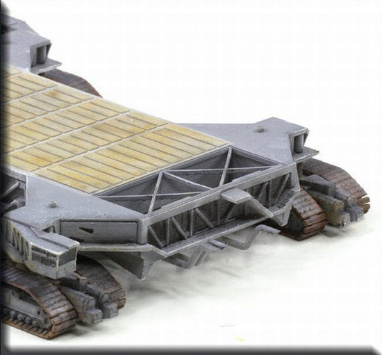 "Dragon Space 1/400 Space Shuttle ""Atlantis"" w/Crawler Transporter"