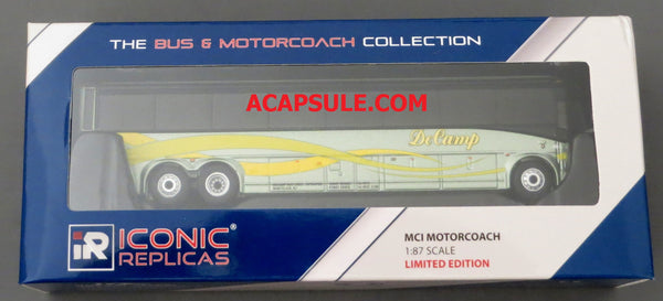 DeCamp #529 - 1/87 Scale MCI D4505 Motorcoach Diecast Model