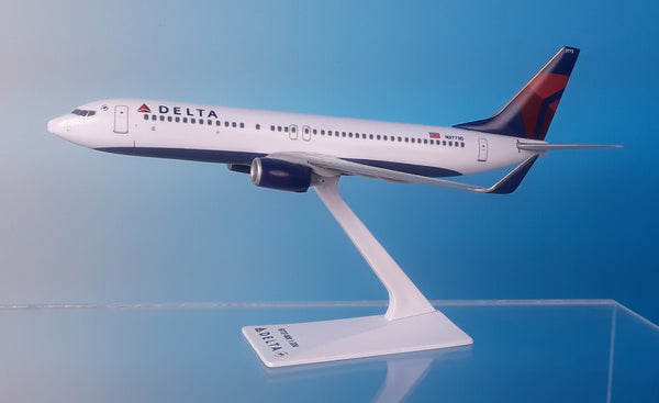 Flight Miniatures Delta Airlines Boeing 737-800 1/200 Scale Model with Stand N3773D