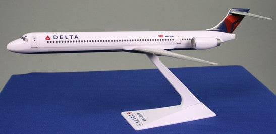 Flight Miniatures Delta Airlines MD-90 1/200 Scale Model with Stand