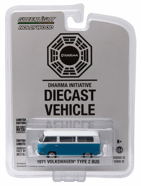 1971 Volkswagen Type 2 Bus from Lost 1/64 Diecast