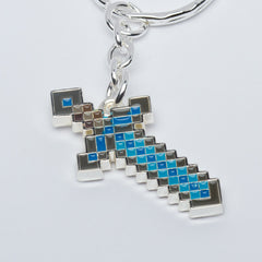 Minecraft Diamond Sword Keychain