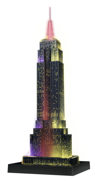 Empire State Building Night Edition 3D Puzzle, 216 Pieces