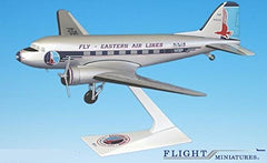 Flight Miniatures Eastern Airlines DC-3 1/100 Scale Model with Stand