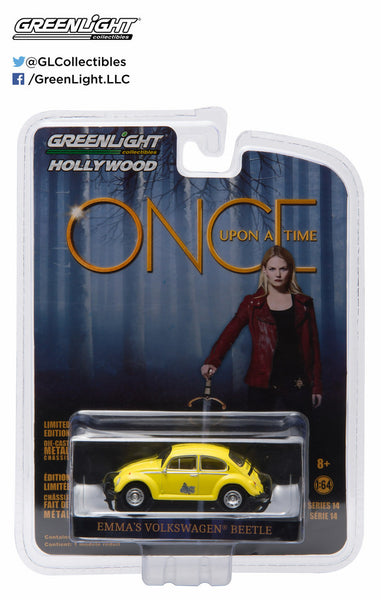 Emma's Volkswagen Beetle from Once Upon a Time 1/64 Scale Diecast Car
