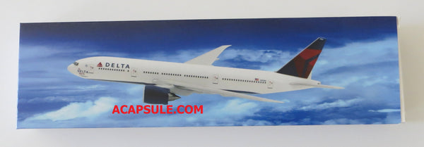 Flight Miniatures Delta Airlines Boeing 777-200LR The Spirit of Delta N701DN 1/200 Scale Model with Stand