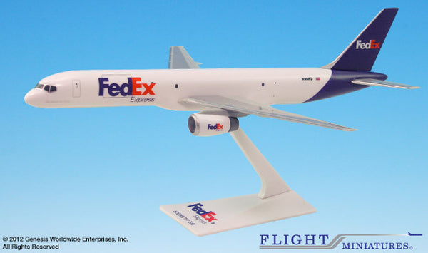 Flight Miniatures Fedex Boeing 777-200F 1/200 Scale Model with Stand
