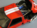 2005 Glossy Red Ford GT 1/24 Scale Diecast Model by Jada
