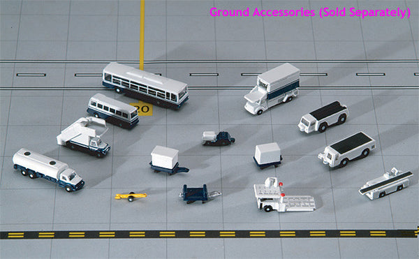 Gemini Jets GSE 14 Piece Ground Accessories Set (GJARPTSETA) 1/400 Scale