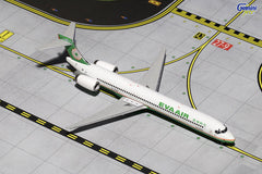 Gemini Jets Eva Air MD-90 1/400 Scale Diecast Model Reg B-17925 GJEVA1513
