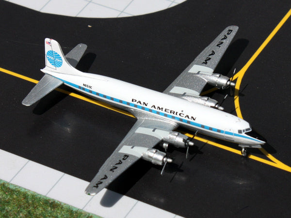 Gemini Jets Pan Am Douglas DC-6 1/400 Diecast Model Reg N6519C