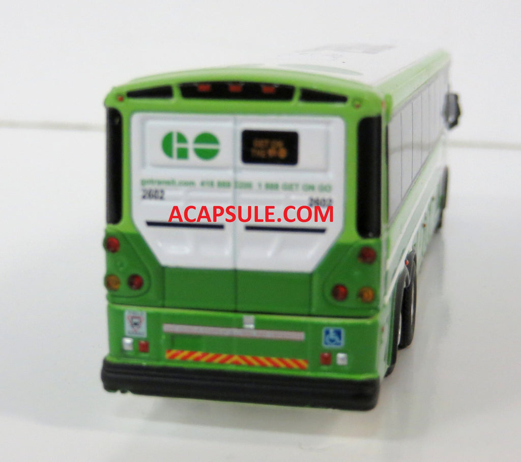 Go Transit 2602 Route 16 To Union Station 1 87 Scale Mci D4505