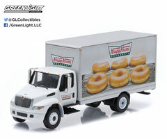 1/64 Diecast Krispy Kreme Donuts Delivery 2013 International Durastar Box Truck