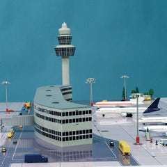 Herpa Airport Complete Set 516792 1/500 Scale