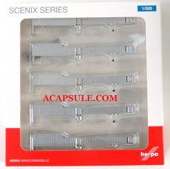 Herpa Airport Accessories V Set of 5 Jetways HE519694