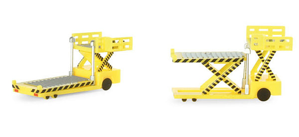 Herpa Airport Accessories Container Loaders (2) 1/500 Scale