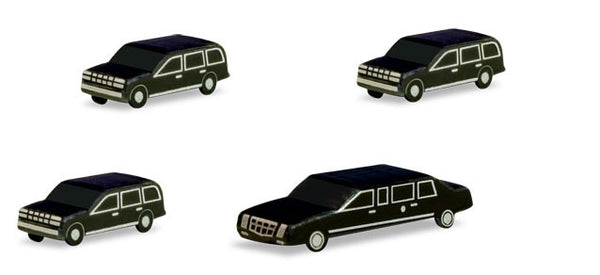 Herpa Airport Accessories Presidential Motorcade Set 1/500 (HE526913)