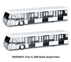 Herpa Airport Accessories(Two) Airport Buses 1/200 HE556071