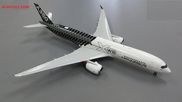 Herpa Airbus A350 XWB Carbon color scheme 1/200 Scale Model Reg F-WWCF