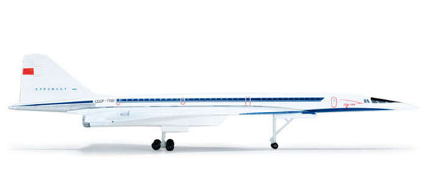 Herpa Wings Aeroflot Tupolev TU-144 1/400 Scale Model