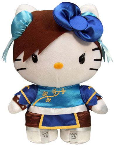 Hello Kitty Chun Li Street Fighter Deluxe Plush