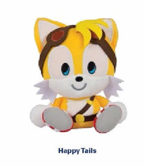 Tomy Happy Tails Emoji Plush - 8 Inches