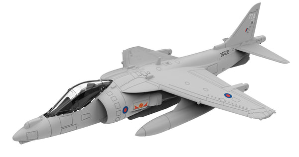 Corgi Flight Harrier GR9 1/72 Scale Diecast Model with Stand