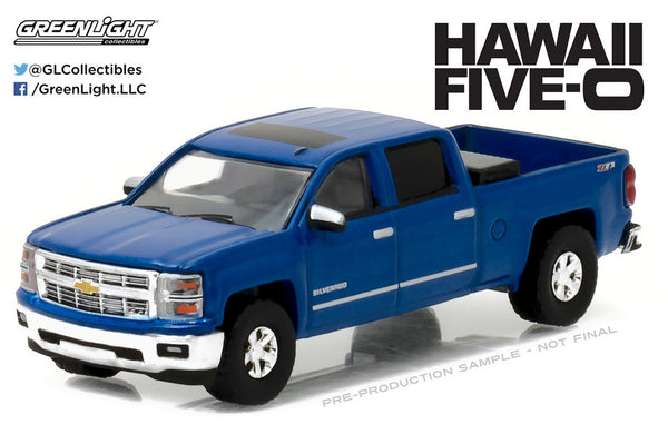 2014 Chevrolet Silverado from Hawaii Five-O 1/64 Scale Diecast Model