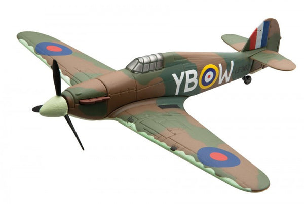 Corgi Flight Hawker Hurricane MkII 1/72 Scale Diecast Model with Stand