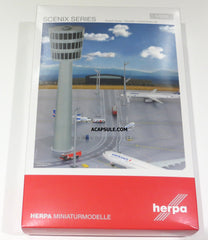 Herpa Airport Accessories Airport Tower Set 1/200 Scale HE558976
