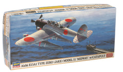 Aichi E13A1 Zero Model 11 Midway Limited Edition 1/72 Model Kit