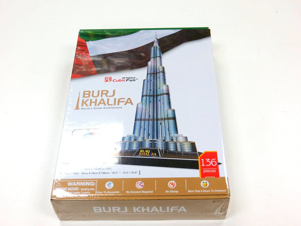 Burj Khalifa 136pc 3D Foam Building Model