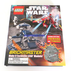LEGO Star Wars Brickmaster (Build 8 Models comes over 240pcs 2 Minifigures )