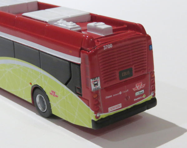Toronto TTC 1/87 Scale New Flyer Xcelsior XE40 Electric Transit Bus Diecast Model