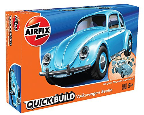 Volkswagen Beetle Light Blue Construction Toy