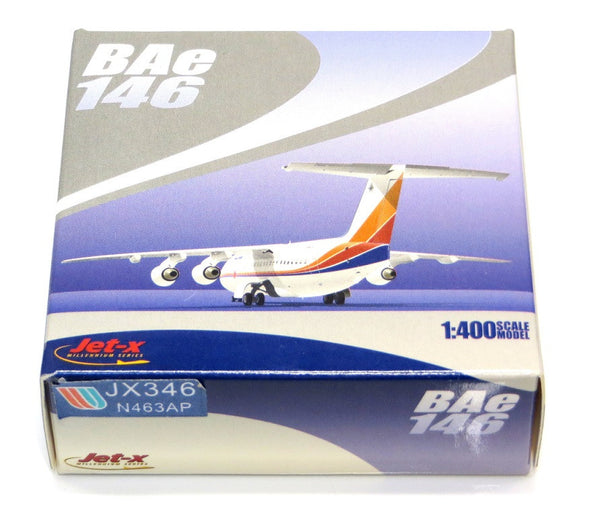 Jet-X United Express Bae 146-100 Diecast Model 1/400 Scale N463AP