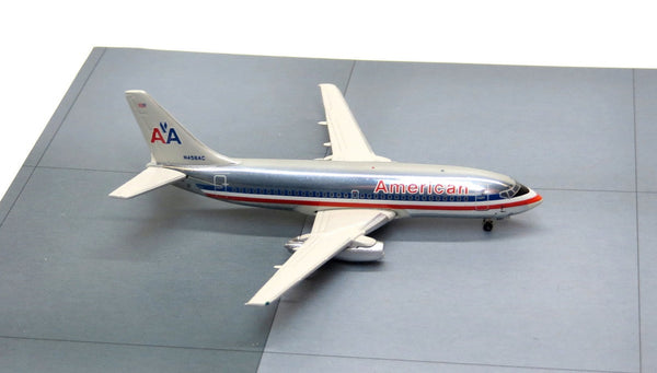 Jet-X American Airlines Boeing 737-200 Diecast Model 1/400 Scale Polished N458AC