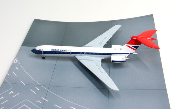 Jet-X British Airways Vickers VC10 Type 1101 Diecast Model 1/400 Scale G-ARVM
