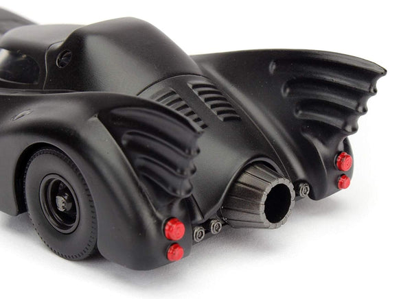 Jada 1989 Batmobile 4.5 Inches 1/32 Scale Diecast Model with Window Box