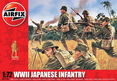 Airfix 1/72 Scale WWII Japanese Infantry Model Figures