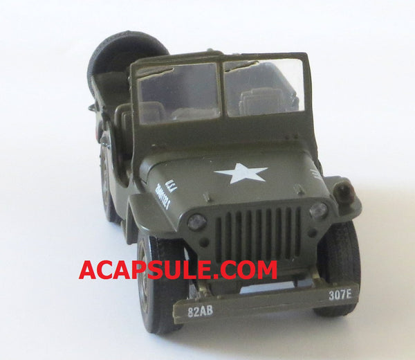 Military Mission 1/32 Scale Diecast Willys Jeep US Army Model