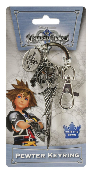 Kingdom Hearts Riku Sword Metal Keychain