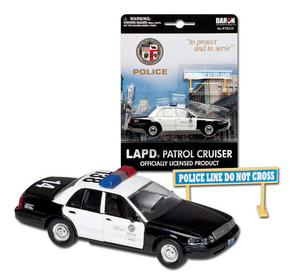 LAPD Police Patrol Cruiser 1/43 Scale