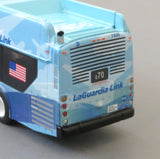 New York City MTA LaGuardia Link Q70 1/87 Scale New Flyer Xcelsior CNG Model Bus