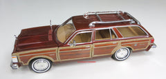1/24 Scale Brown 1979 Chrysler Lebaron Wagon Diecast Model