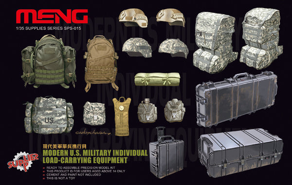 Modern US Military Individual Load-Carrying Equipment 1/35 Model Kit